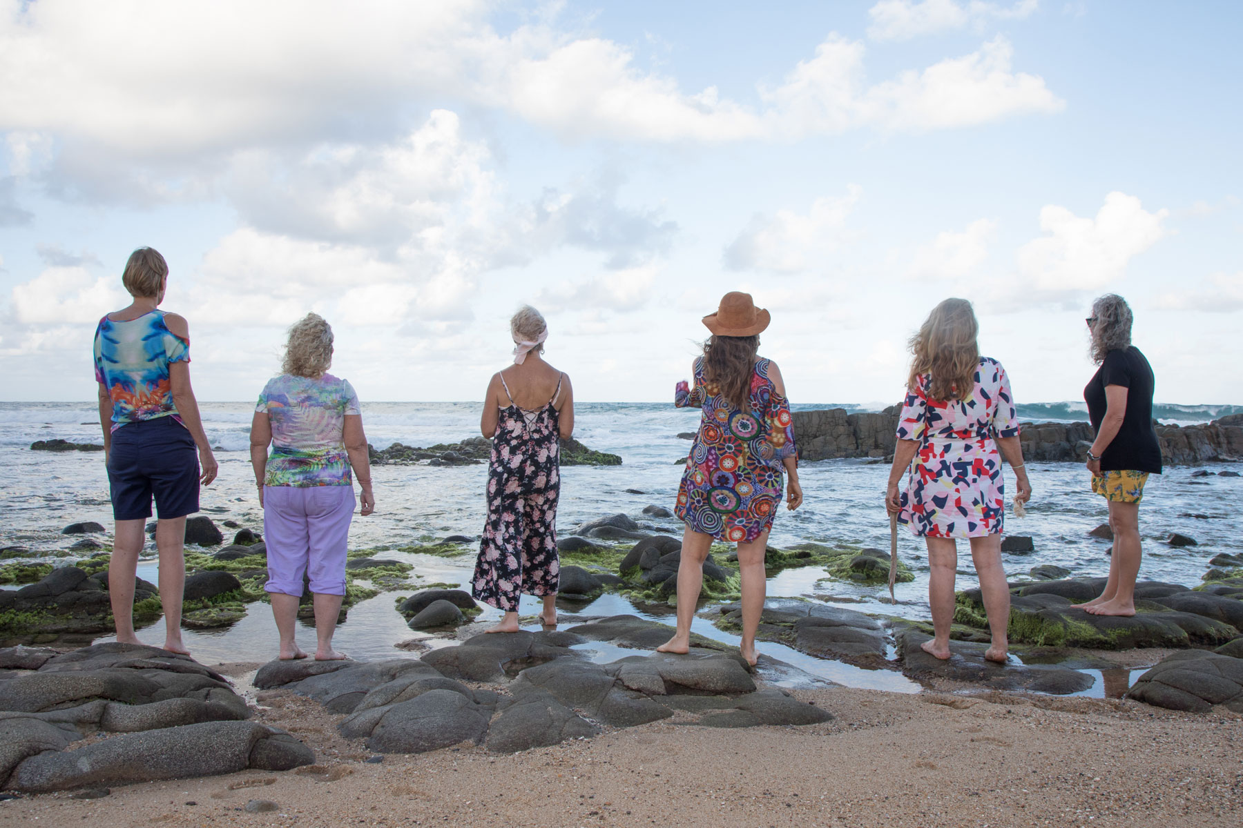 Womens art therapy group on the Sunshine Coast
