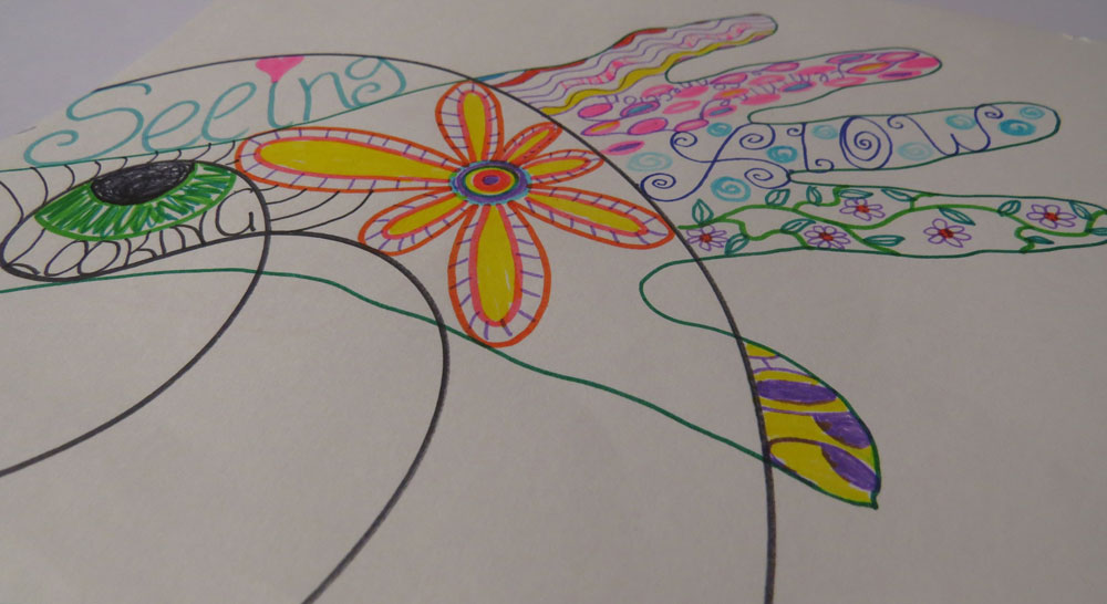Help and guidance for women through art therapy