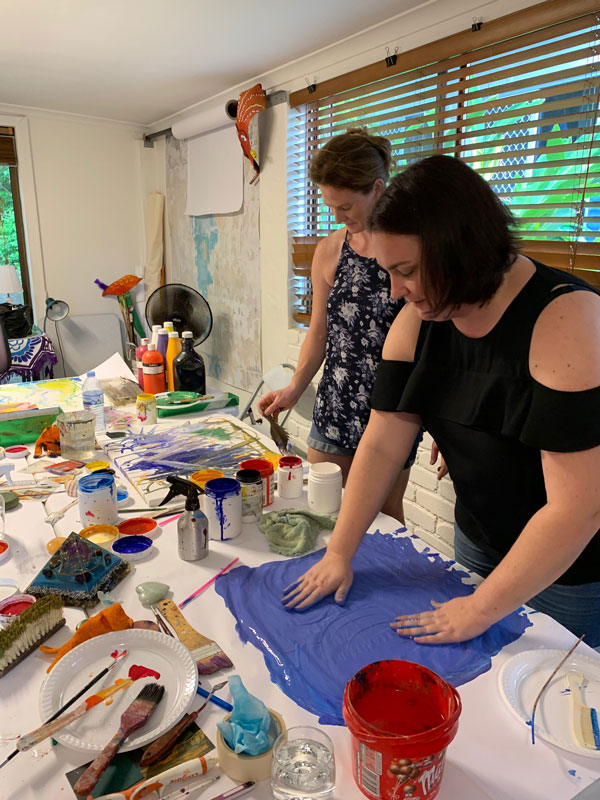 workplace art therapy workshops