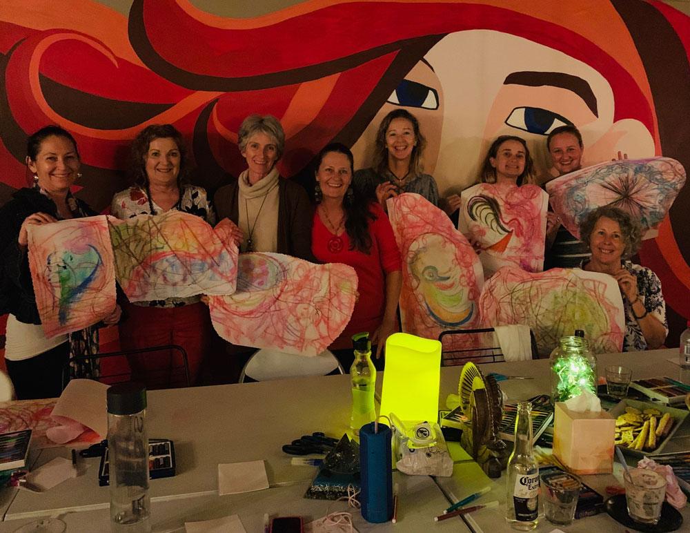 Sunshine Coast womens art therapy meetup group