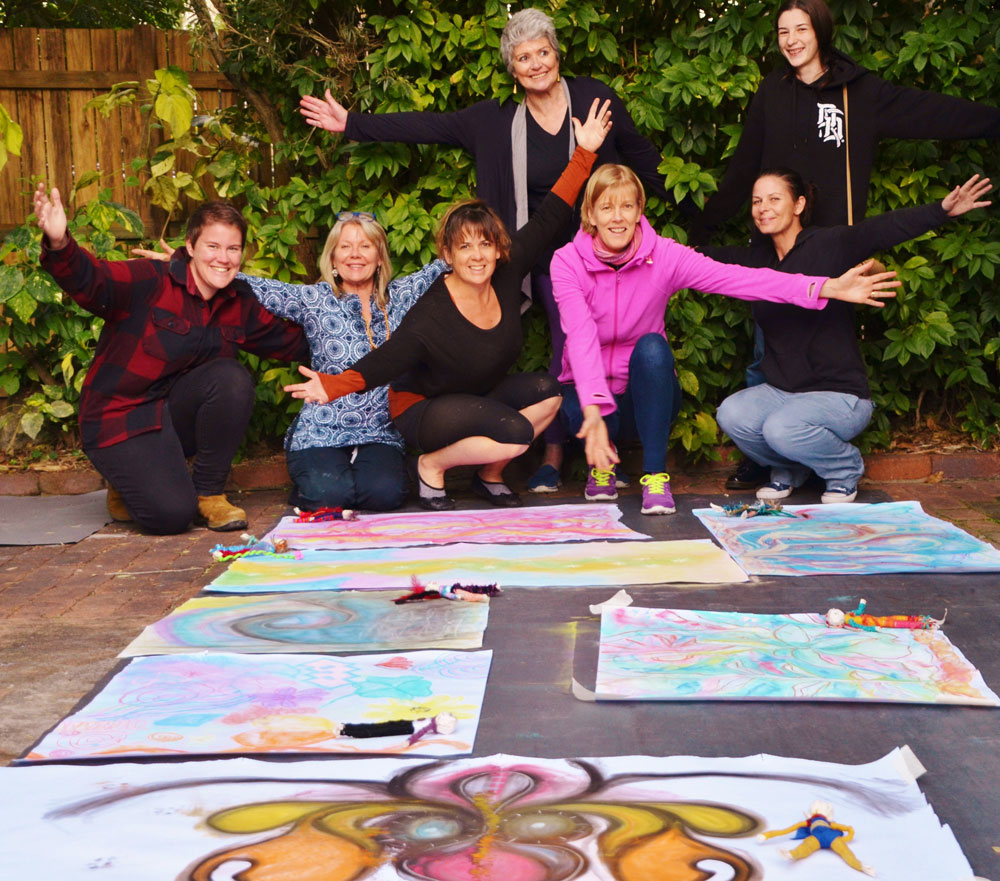 Growth Through Art Creative wellness workshops