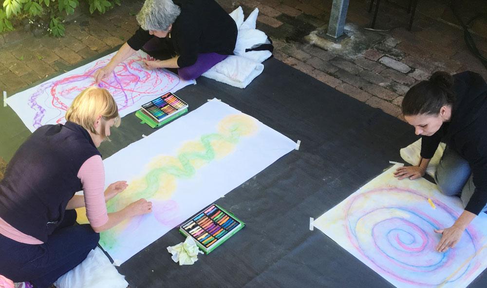 Wellness mentoring workshops through art