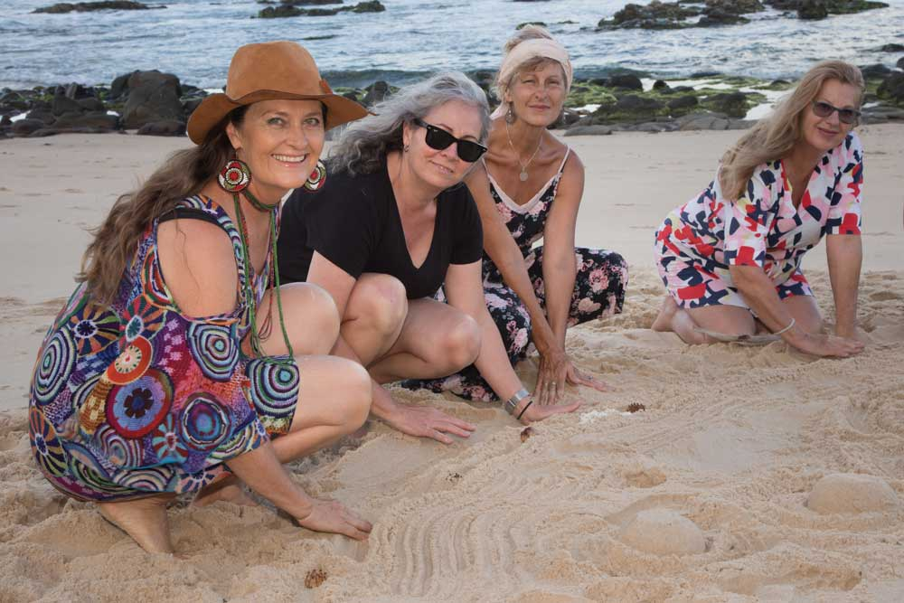 Creative Sunshine Coast mentoring for females.
